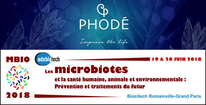article_mircobiote_phodé_biotech_MBIO_2018