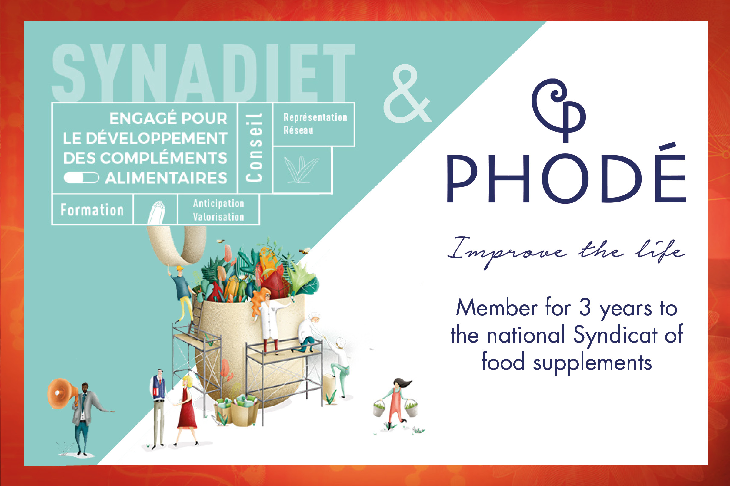 national Syndicat of food supplements